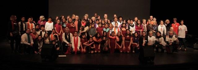 Concert les enfants d'Equateur nous ouvrent leur choeur