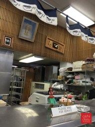 The counter where they typically have fresh fish