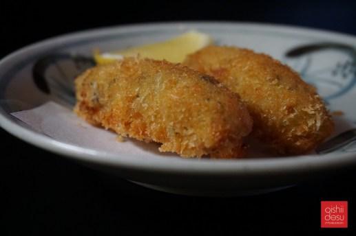 creamy shrimp croquette