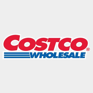 Photo Description: the Costco Wholesale logo.