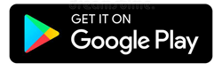 """Photo Description: the Google Play icon with the text """"Get it on Google Play."""""""