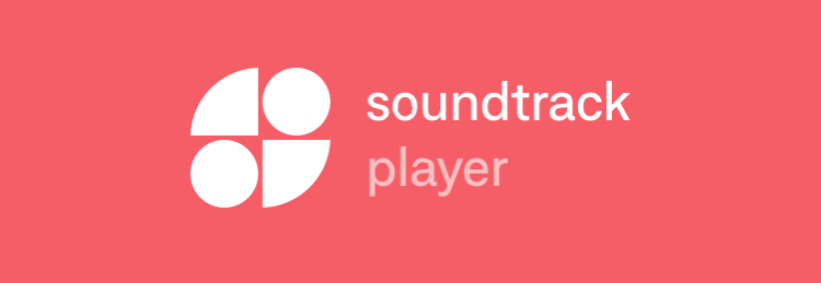 Photo Description: Soundtrack your brand.com logo.