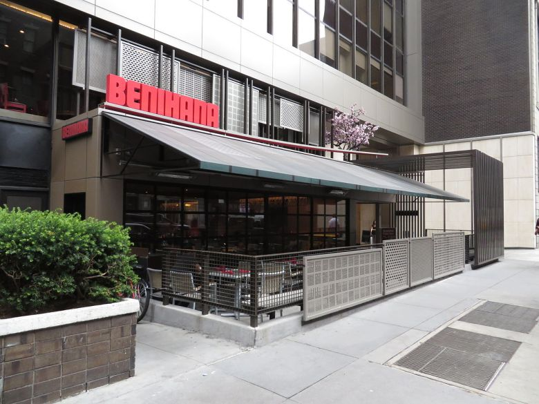 Photo Description: the West 56th street Benihana in New York City.