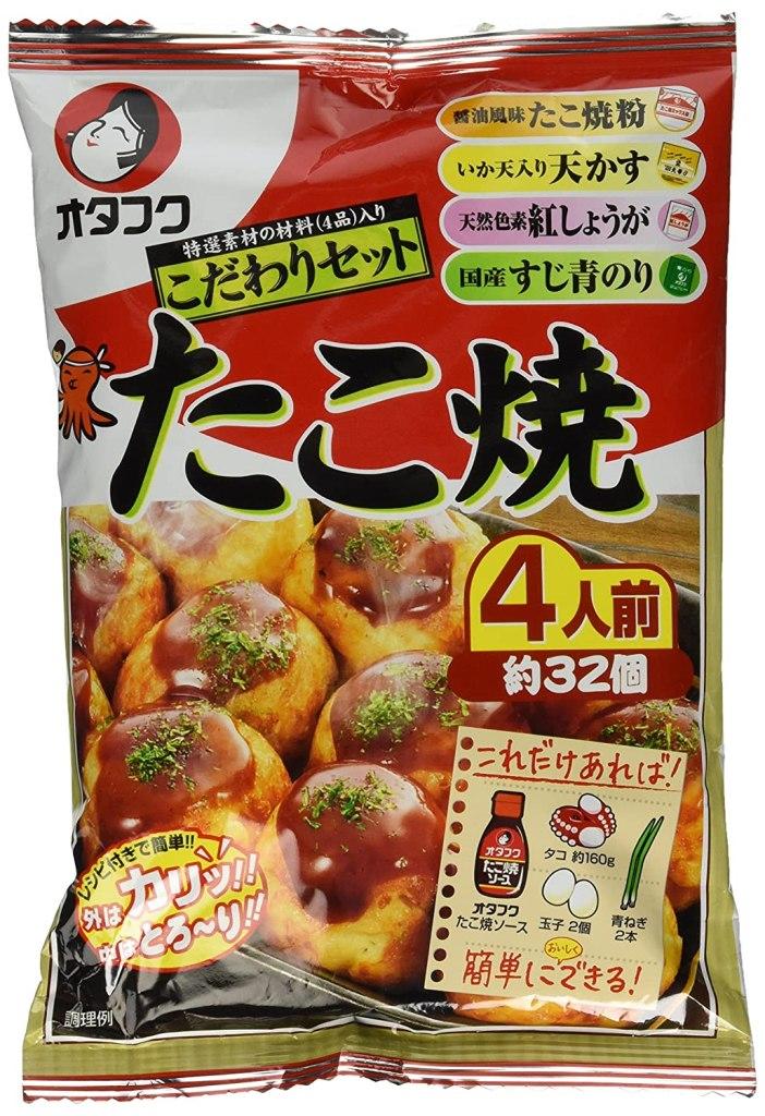 Photo Description: Otafuku takoyaki flour.
