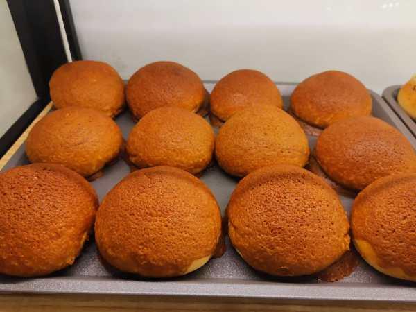 Oishi Pan Bakery Singapore - Best Coffee Bun in a tray