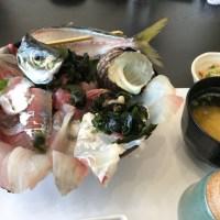 関アジ海鮮丼