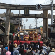 中山道垂井祭り