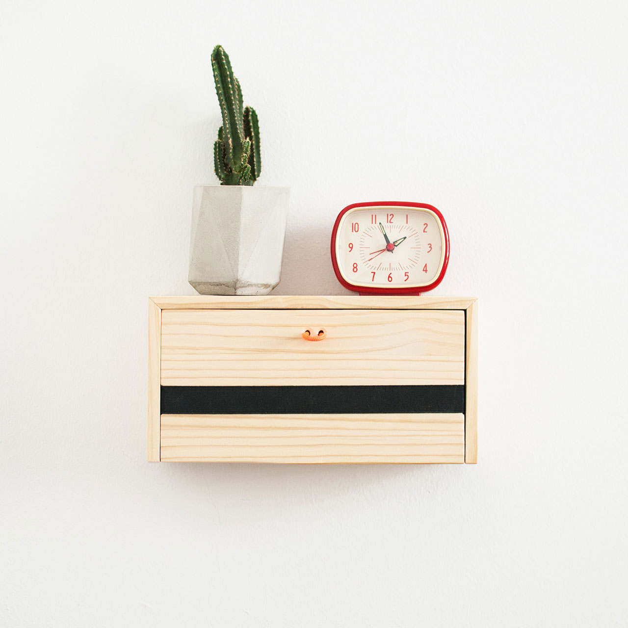 Modern Wood Wall Floating Nightstand