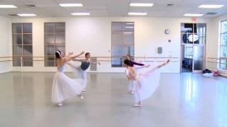 Ensaio do Boston Ballet, Pas de Quatre