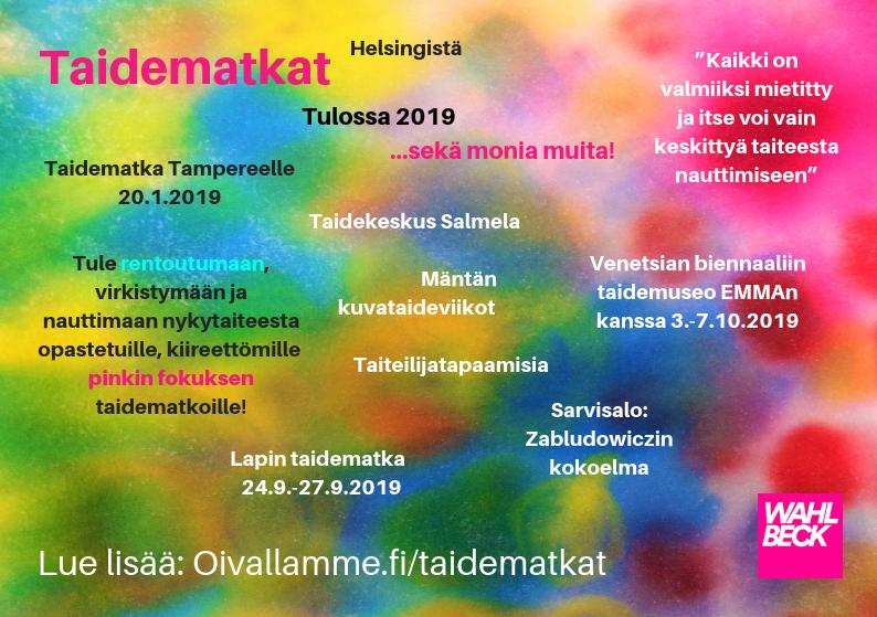 Taidematkat Helsingistä