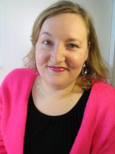 Työnohjaaja Johanna Wahlbeck kuvassa