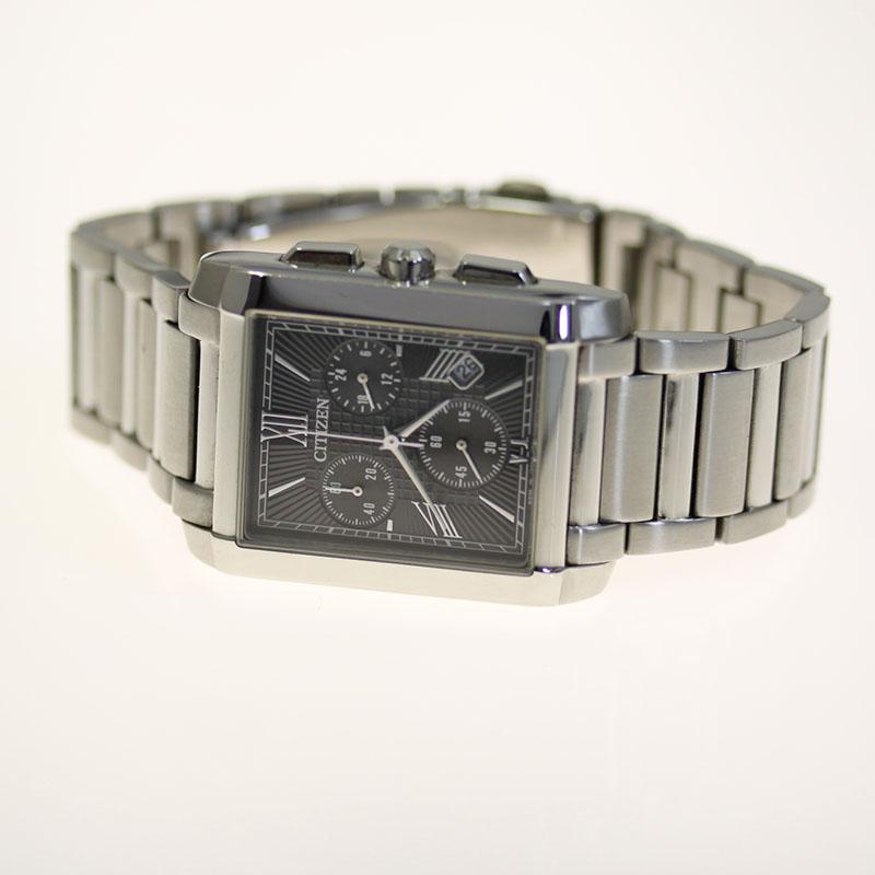CITIZEN クロノ シチズン コレクション エコ ドライブ メンズ 腕時計 AT0560-51E