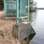 雄蛇ヶ池ポイントガイド(7)取水場跡付近