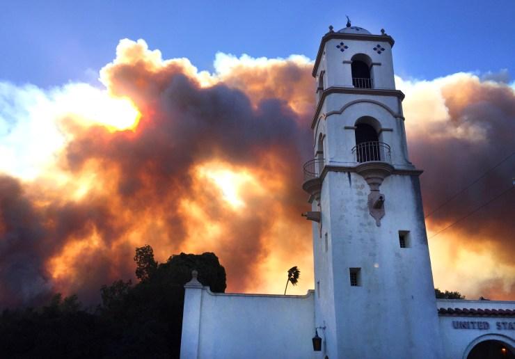Ojai Chautauqua - Fire in the Ojai Valley, March 30, 2019
