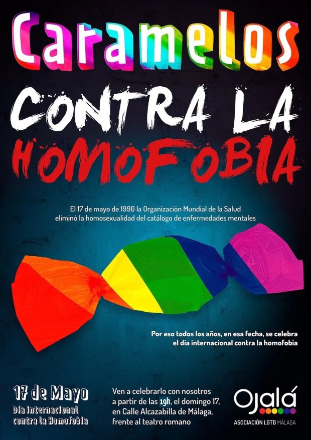 Caramelos contra la homofobia