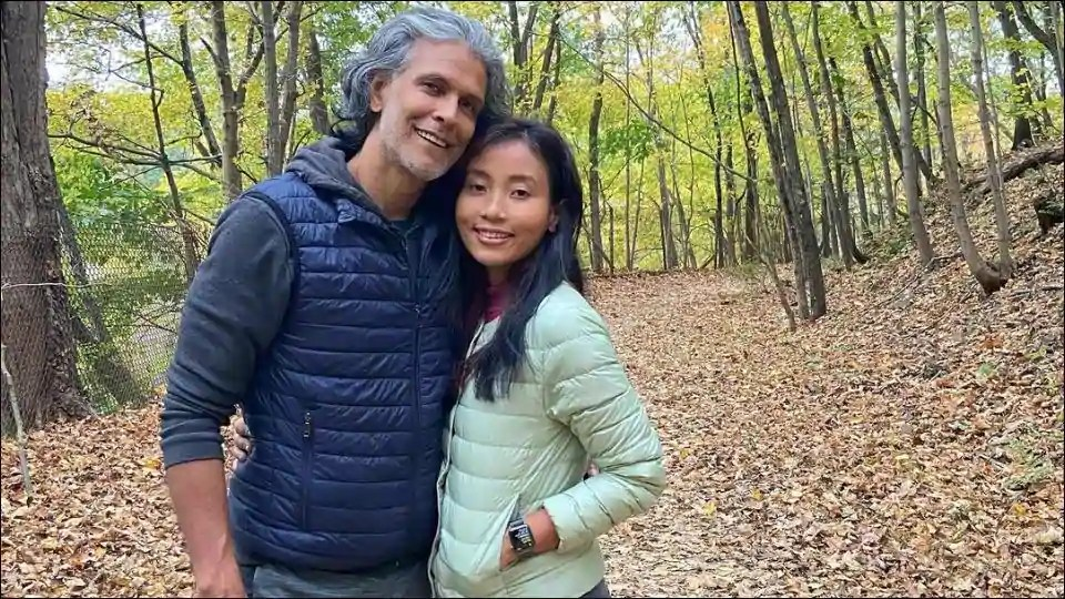 Milind Soman-Ankita Konwar enjoy a 'delicious autumn' in the US and these travel pictures are proof