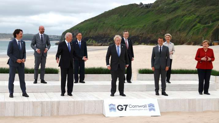 Joe Biden urges G7 leaders to call out and compete with China -