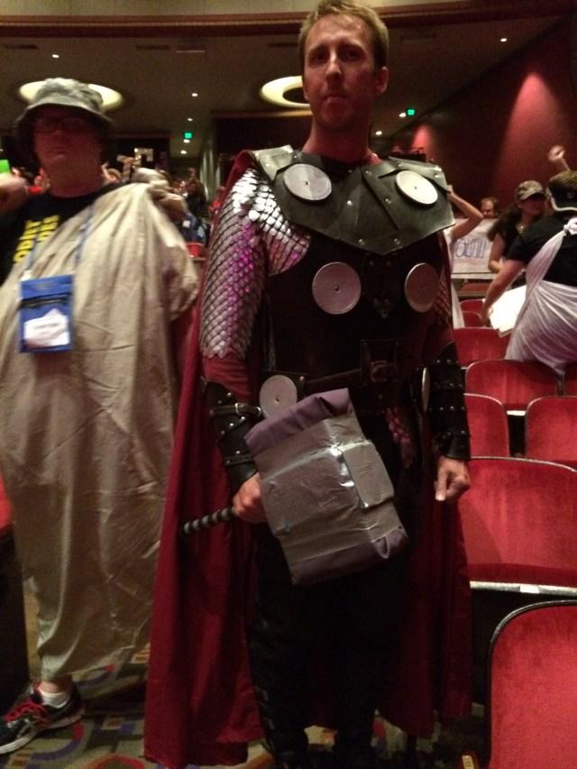 Thor, aka Optimus Prime, aka Mr. Stem (St. Edward)