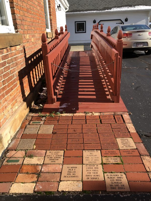 OJHS Tribute Brick Walkway