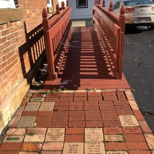 OJHS Tribute Brick Walkway