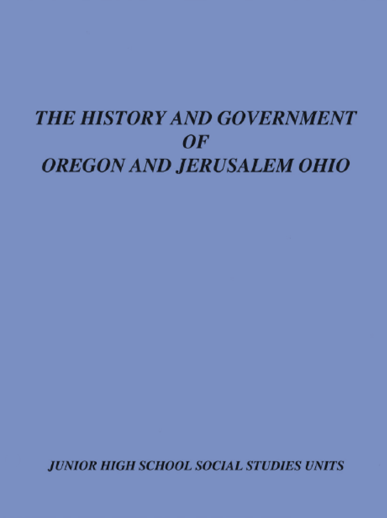 The History and Government of Oregon and Jerusalem Ohio