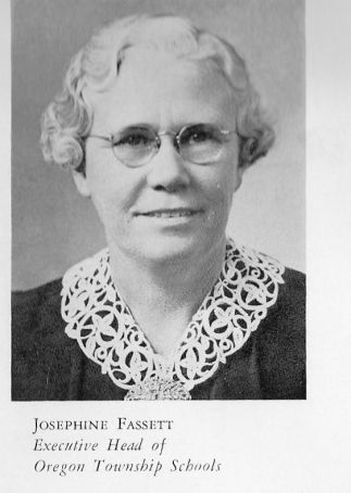 Founder Josephine Fassett Oregon Ohio