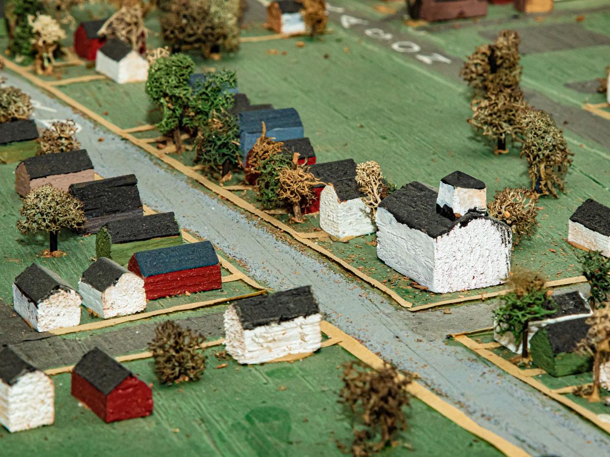 model early Oregon Ohio town
