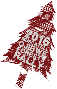 2016 Ojibwe Forests Rally logo