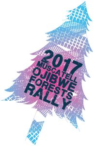 2017 Ojibwe Forests Rally logo