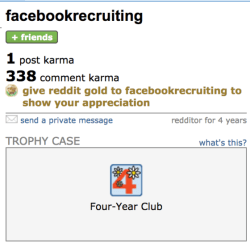 How to recruit on Reddit: Karma