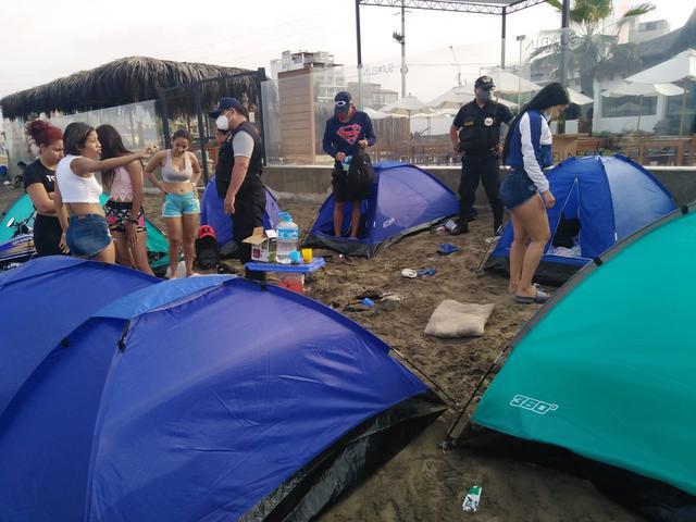 Este tipo de prácticas se encuentran prohibidas por el incremento de casos por COVID-19 (Foto: Municipalidad de Huanchaco)