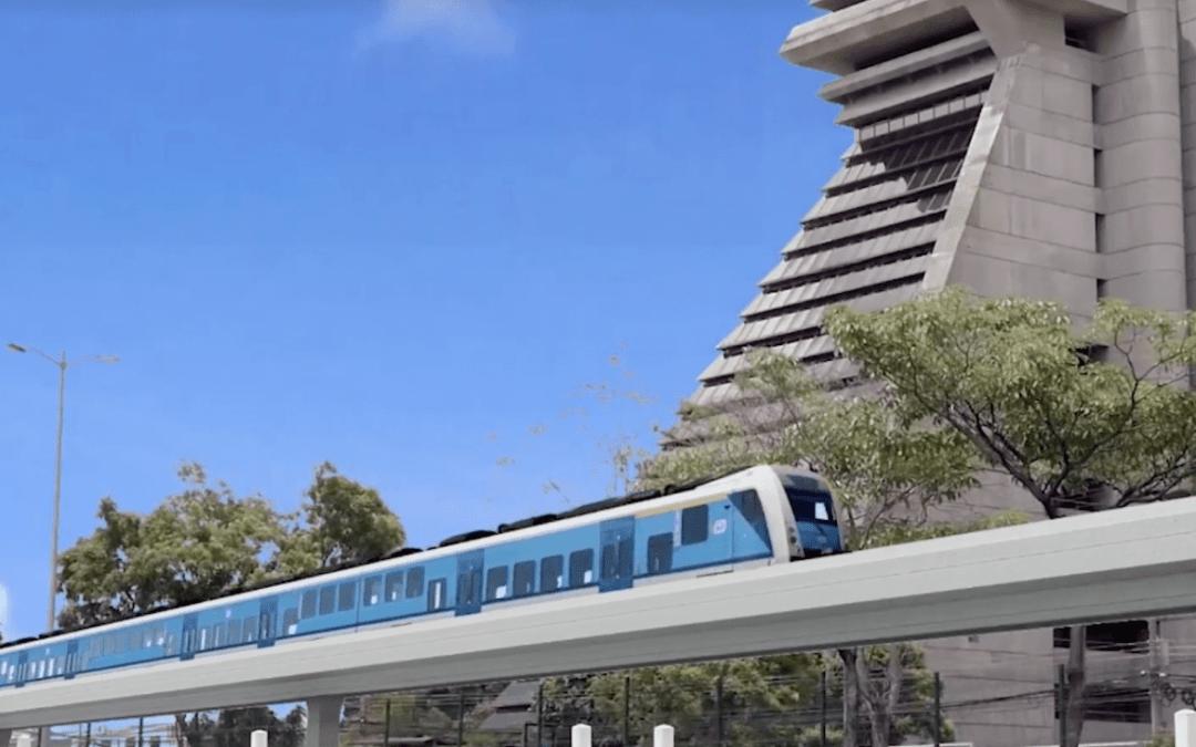 Déficit fiscal amenaza proyecto de tren eléctrico