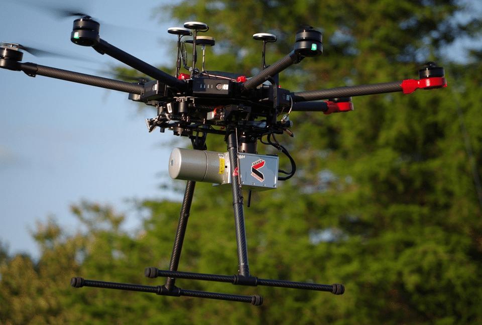 Drones y láseres: proyecto busca medir el carbono en los bosques de Costa Rica