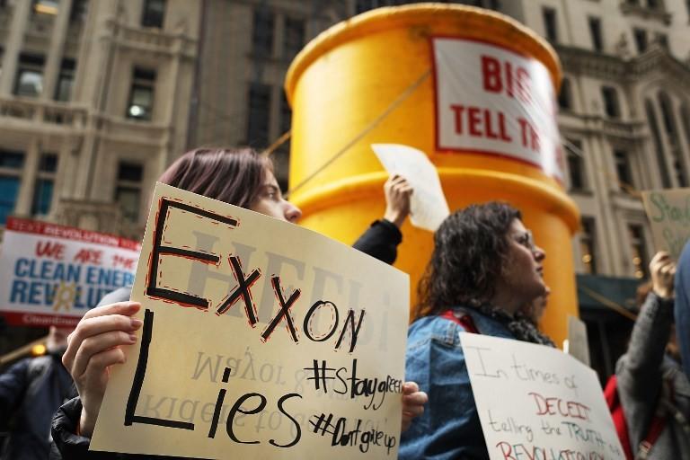 Demandan a ExxonMobil en EEUU por engaño relacionado con el cambio climático