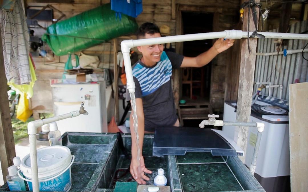 Recurso hídrico es vulnerable al cambio climático Bahía Ballena calma su sed con agua de lluvia