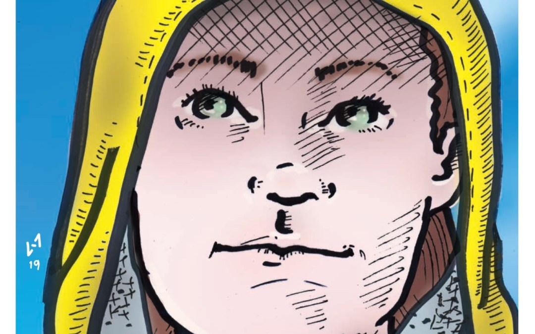 La historia de Greta Thunberg contada en un comic
