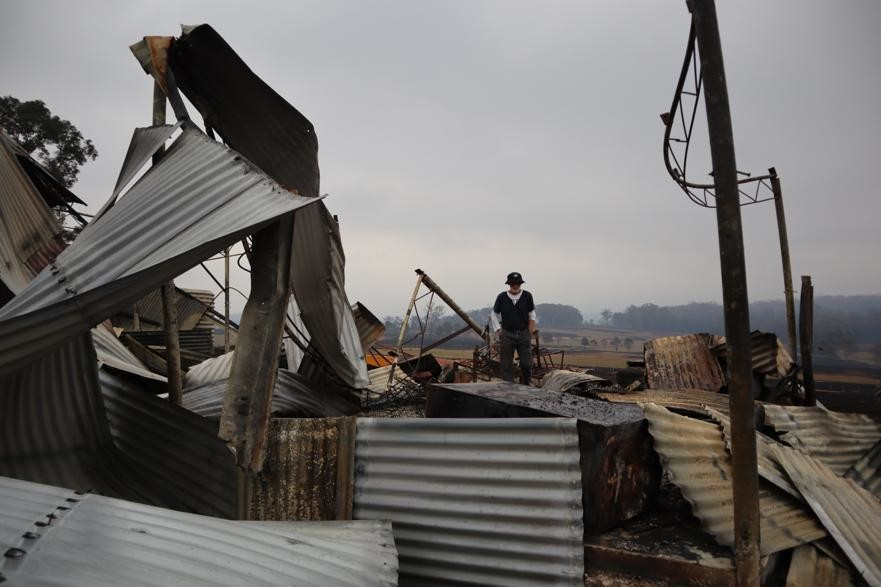 Los incendios de Australia arrasaron la granja de mi familia