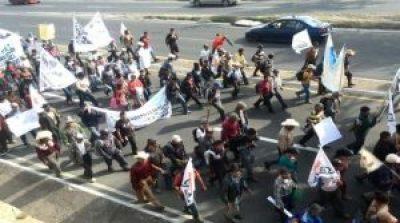 marcha indigena guatemala