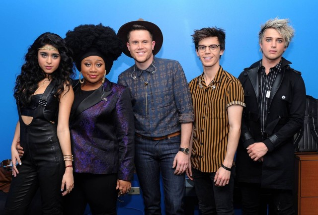 AMERICAN IDOL: Top 5: L-R: Top 5 contestants Sonika Vaid, La'Porsha Renae, Trent Harmon, MacKenzie Bourg and Dalton Rapattoni on AMERICAN IDOL airing Thursday, March 17 (8:00-10:00 PM ET/PT) on FOX. © 2016 FOX Broadcasting Co. Cr: Ray Mickshaw/ FOX. This image is embargoed until Thursday, March 17,10:00PM PT / 1:00AM ET
