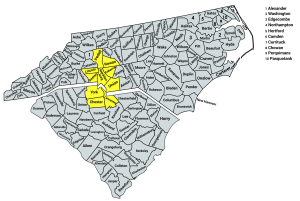 Hotspots for Solar - NC and SC