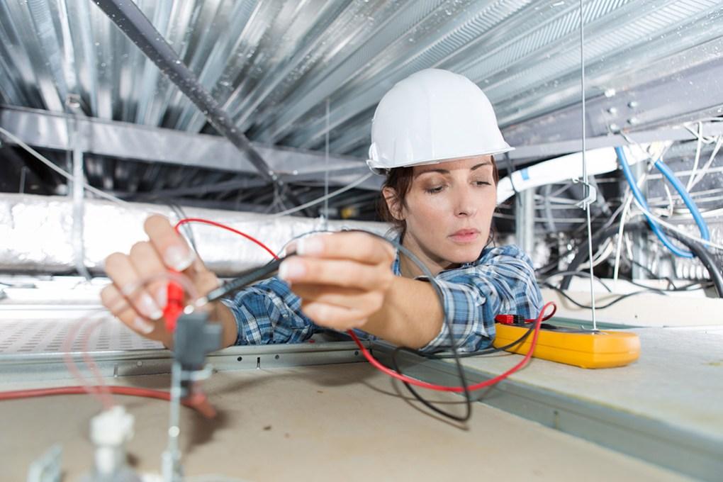Female electrician apprenticeship
