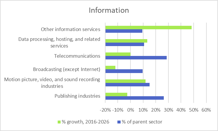 Information Industry Projections