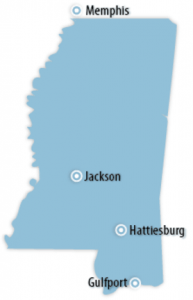 Mississippi Locations for Job Training