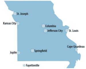 Missouri Locations for Job Training