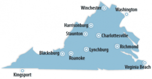 Virginia Locations for Job Training