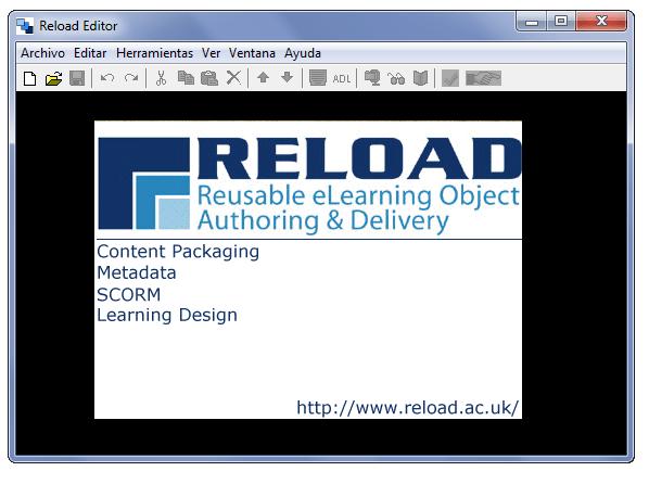 Abriendo Reload Editor