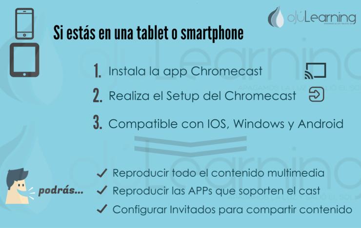 ChromeCast y Smartphone