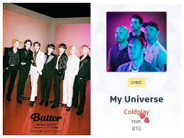 Mp3: Coldplay Ft. BTS - My Universe