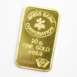 SWISS BANK[スイス バンク]K24インゴット/20g