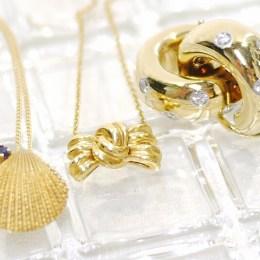 Tiffany & Co.[ティファニー]K18イヤリング・ネックレス